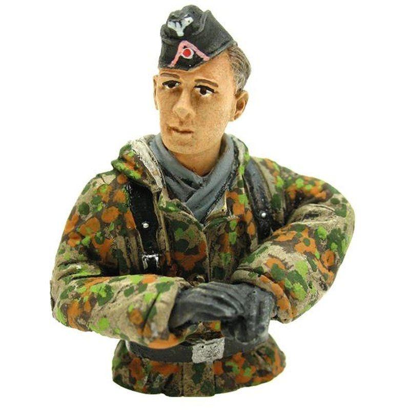 Figur Panzerfahrer Sommertarn Halbfigur 1/16 für Panzer