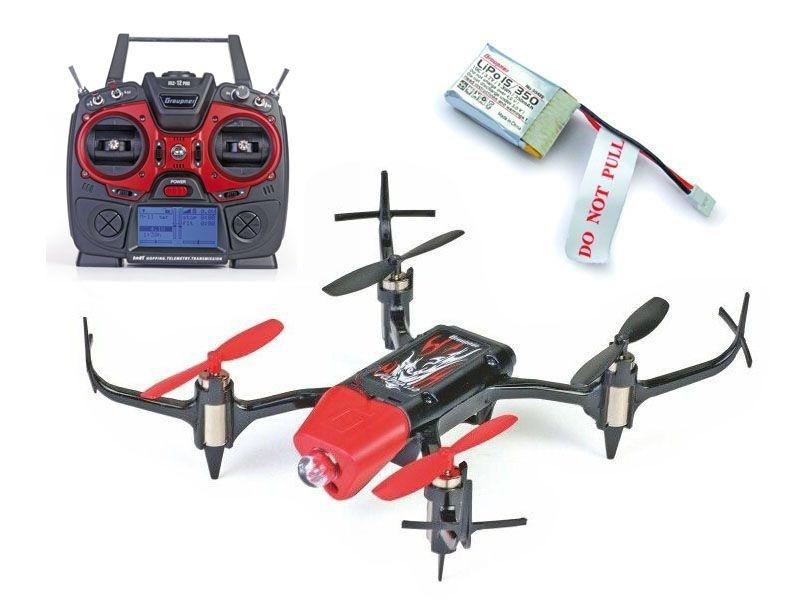 Quadrocopter Alpha 110 Ready for HoTT inkl. MZ-12 & 2. Akku