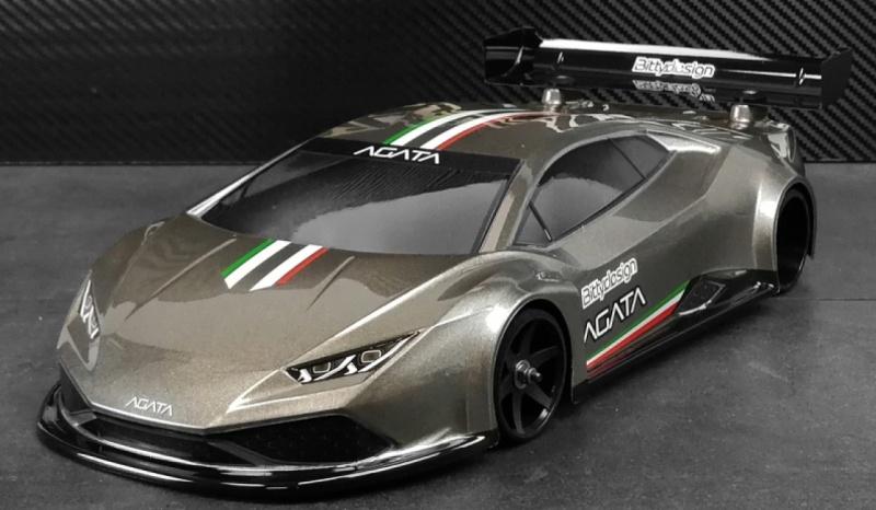 Agata 1/12 GT Lightweight Karosserie (klar)