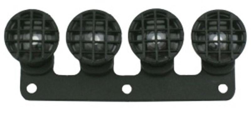 Scheinwerferkegel schwarz Slash Bumper+Universal