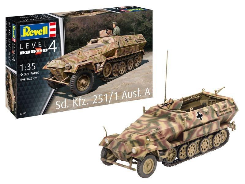 Sonderkraftfahrzeug 251/1 Ausf.A Bausatz 1:35