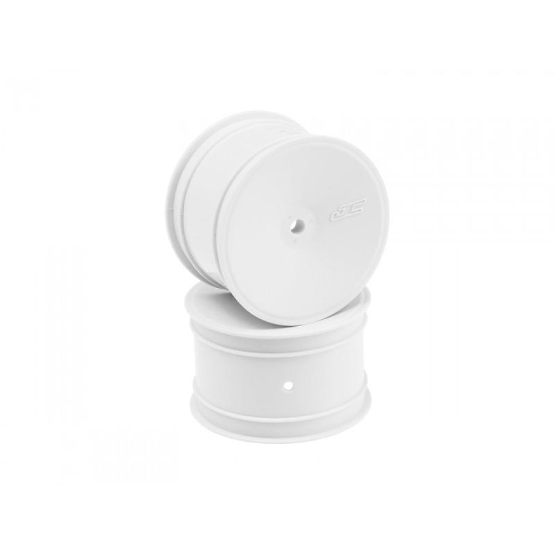 Mono 1/10 Buggy Dish Felgen 12mm für B6, B6.1, B64 (4) weiß