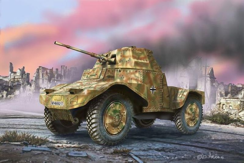 Armoured Scout Vehicle P204(f) 1:35