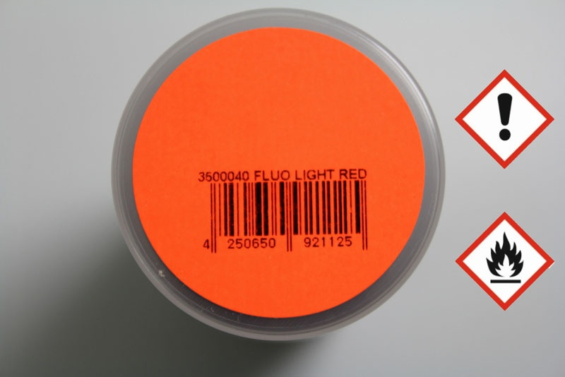 PAINTZ FLUO hell rot 150ml Polycarbonat Spray - Lexanfarbe