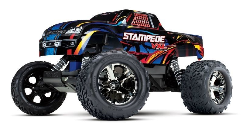 Stampede VXL Brushless 2.4GH 2WD Rock and Roll RTR ohne Akku