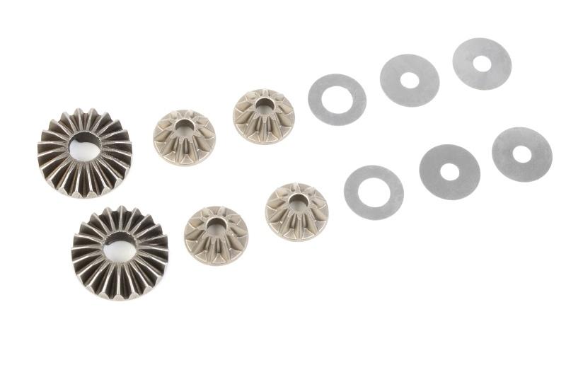 Stahl Differential Planeten Getriebe für 1/8 Kronos