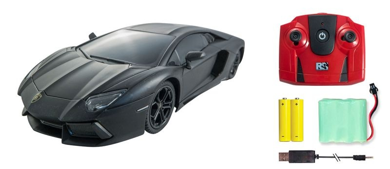 Lamborghini Aventador LP 700-4 Car 1/24 2,4GHz RTR schwarz
