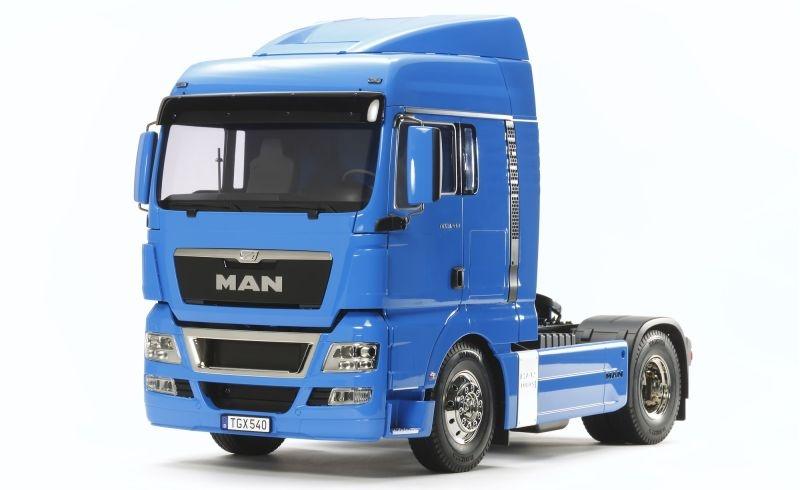 MAN TGX 18.540 4x2 XLX - French Blue 1:14 RC Truck Bausatz