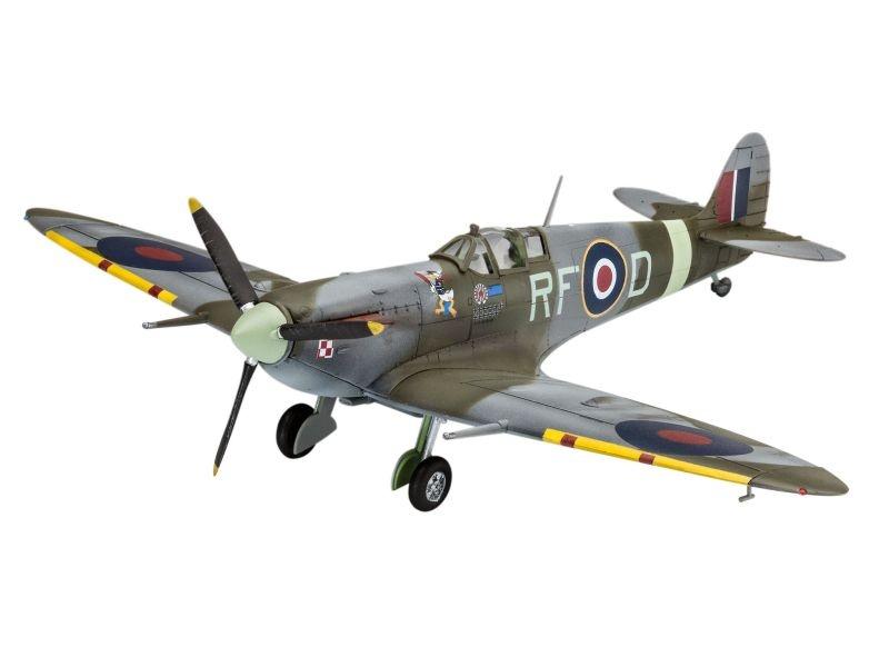 Spitfire Mk.Vb Militär Flugzeug Plastikmodellbausatz 1:72