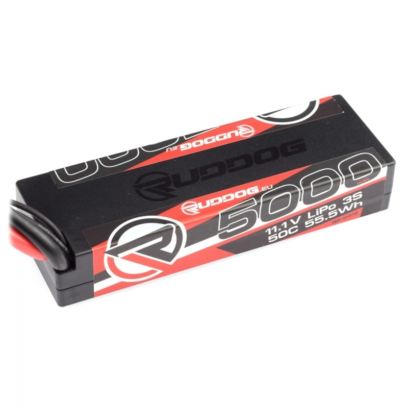LiPo Akku 3S 5000mAh 50C 11,1V Hardcase - XT60