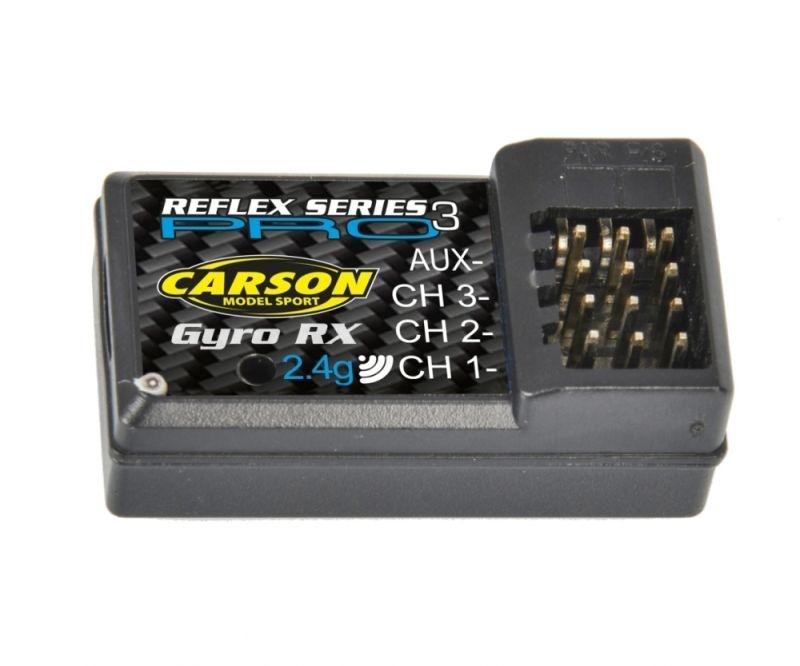 Empfänger Reflex Pro 3 Nano + Gyro 2.4 Ghz