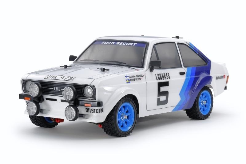 Ford Escort MkII Rally 1/10 4WD MF-01X Bausatz, vorlackiert