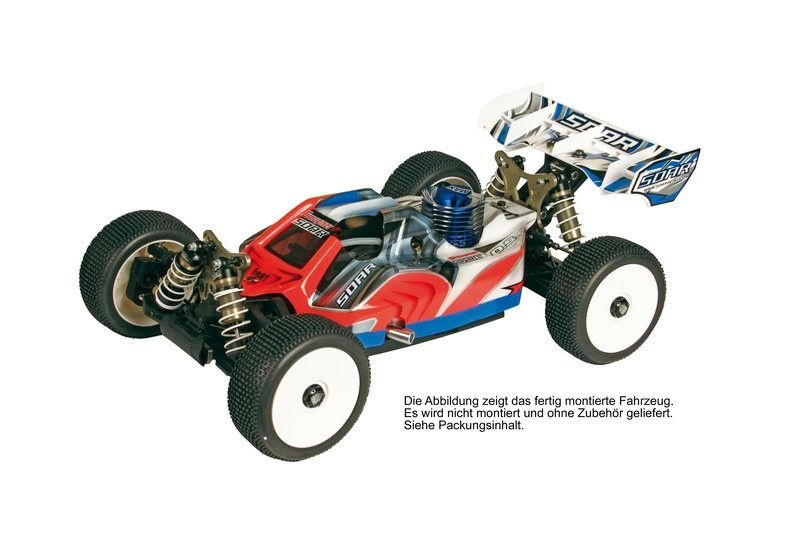 Soar 998 Championship Racing Buggy Kit 1/8 Nitro 4WD