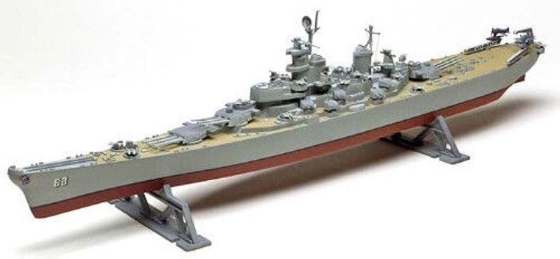 U.S.S. Missouri Battleship 1:535 Plastik Bausatz