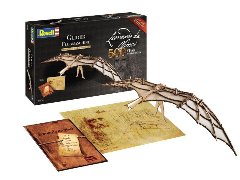500 Jahre Leonardo da Vinci Flugmaschine