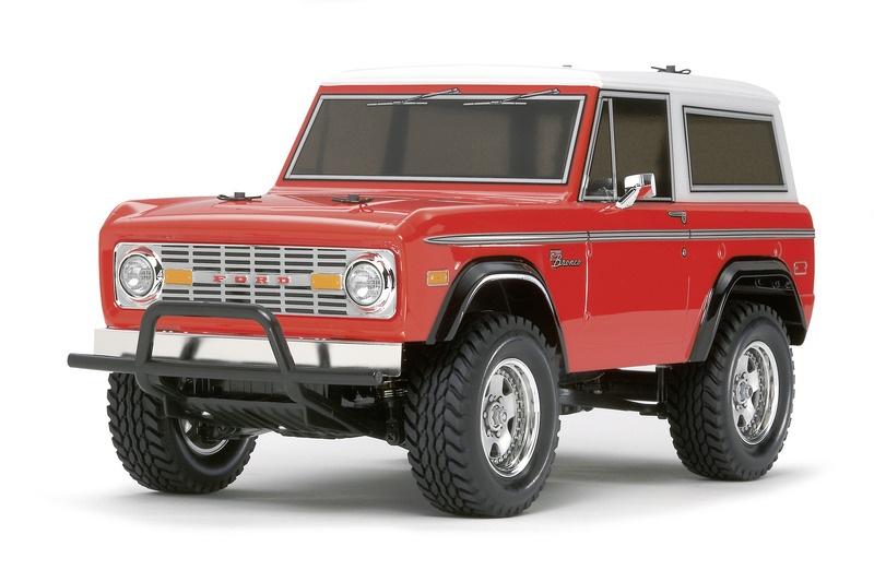 Ford Bronco 1973 CC-01 1:10 Kit mit Fahrtenregler