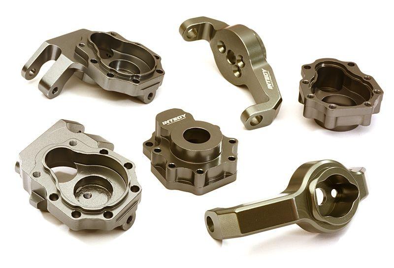 CNC Aluminium Portalgehäuse für TRX-4, gun