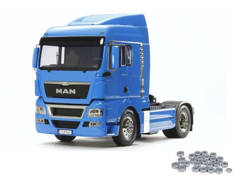 MAN TGX 18.540 4x2 XLX - French Blue 1:14 Truck + Kugellager