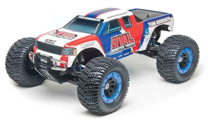 TEAM ASSOCIATED RIVAL 1:8 Brushless-Monster-Truck RTR