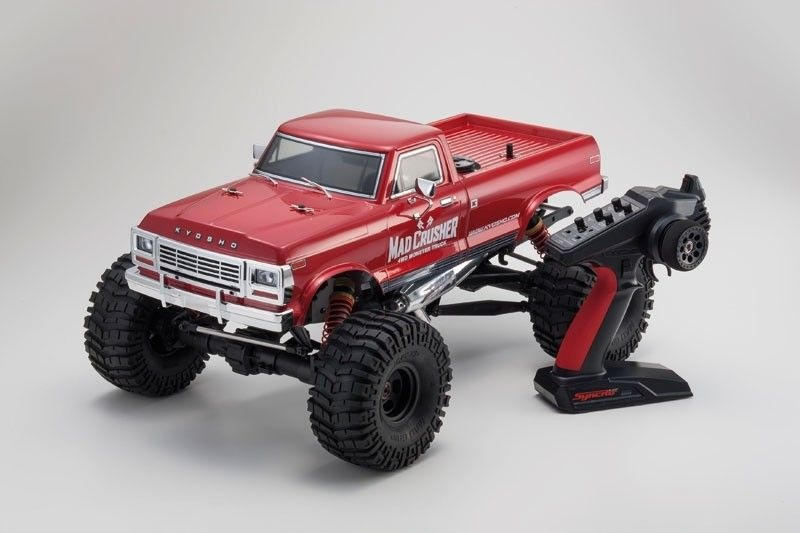 Mad Crusher 4WD Monster Truck Nitro 1/8 GP 2,4GHz RTR
