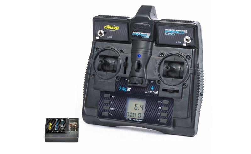 FS Reflex Stick Pro 3.1 2.4GHz LCD 4-Kanal Fernsteuerung