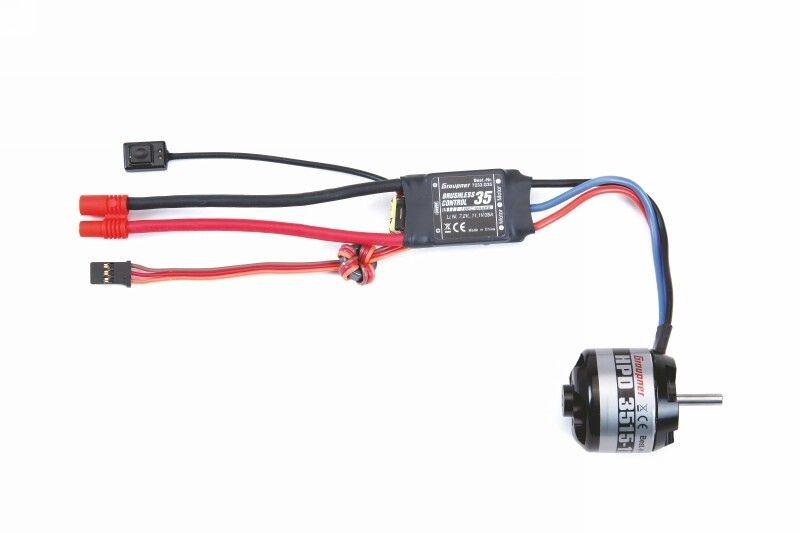 COMPACT HDP 3515- 1100 11,1V Motor/Regler Set