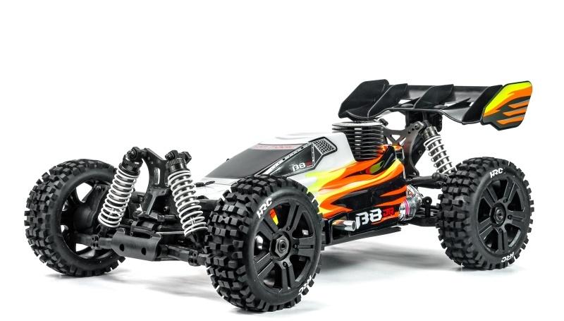 B8JR 4WD Buggy 1/8 Nitro 4,1ccm 75-85km/h RTR