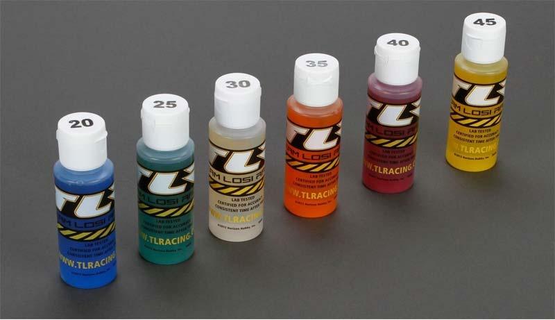 Stoßdämpferöl 6er-Set: 20,25,30,35,40,45wt je 2oz