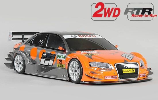 Benziner 2WD 530 RTR Chassis + Audi A4 Albers Karo