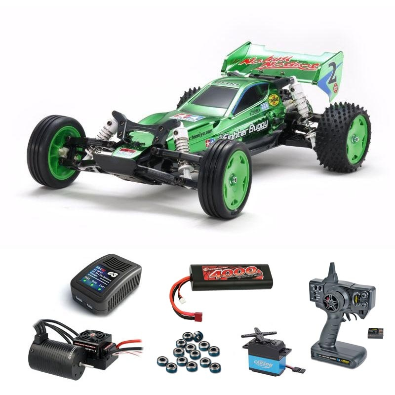 Neo Fighter Green Metallic 2WD Buggy Brushless Komplettset
