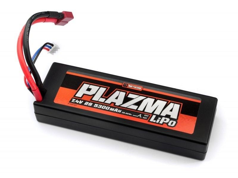 Plazma 7.4V 5300mAh 40C LiPo Akku mit T-Stecker