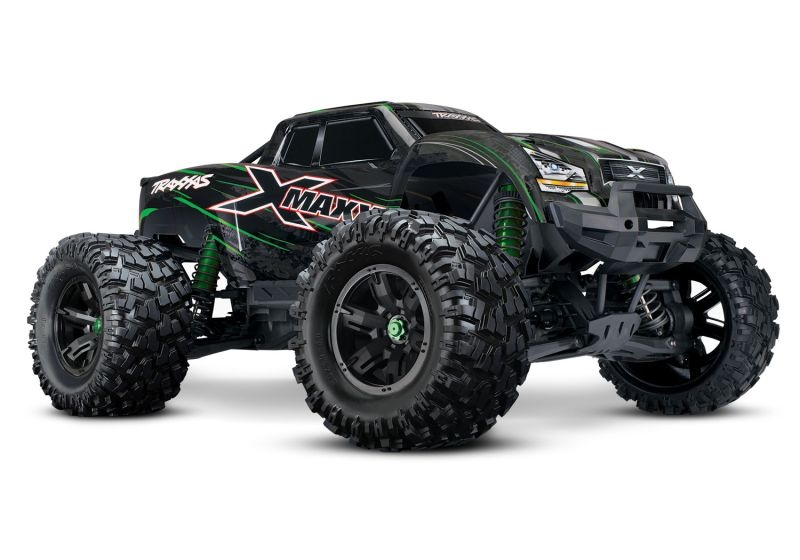 X-MAXX 8S 4WD Brushless Monstertruck TSM RTR grün