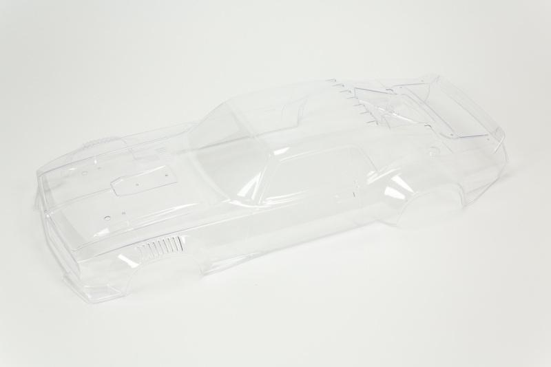 FELONY 6S BLX Karosserie - unlackiert, vorgeschnitten