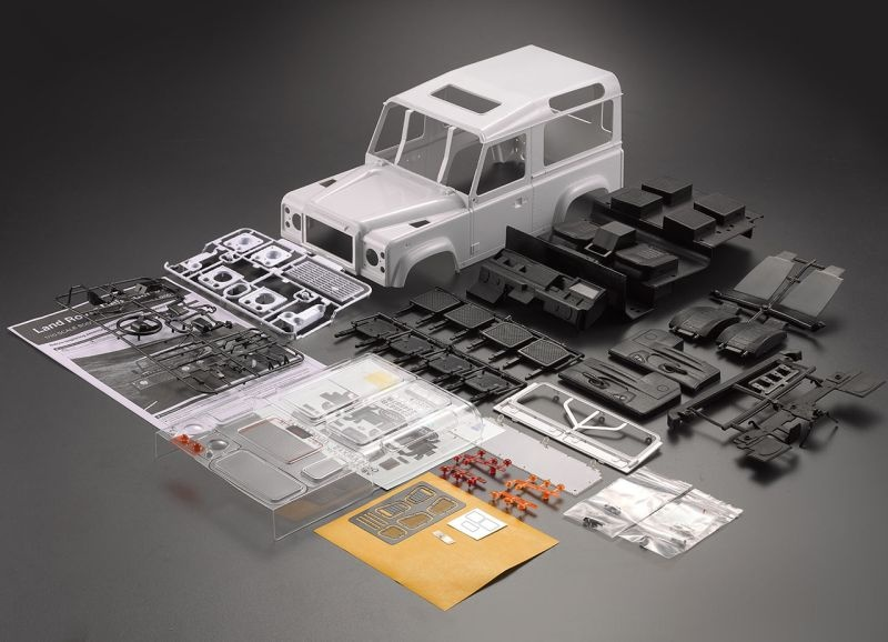 D90 Hardbody ABS Kunststoff Karosserie Bausatz