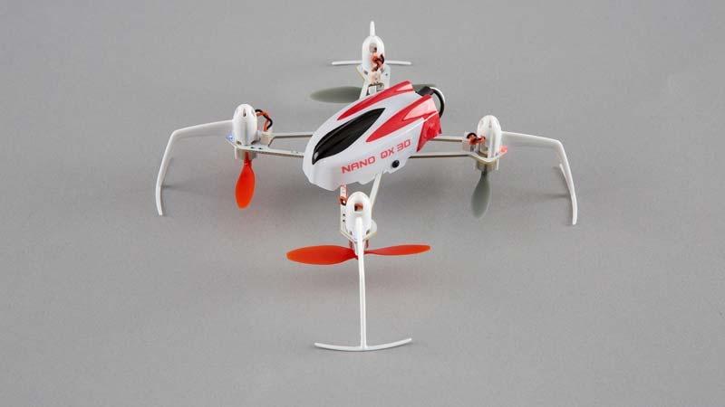 Blade Nano QX 3D BNF Quadrocopter mit SAFE-Technologie