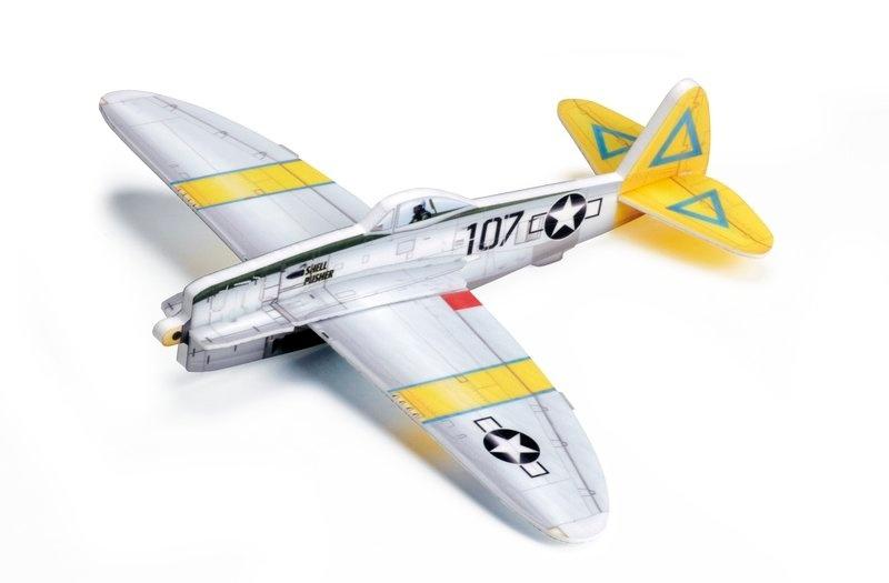 Vector Plane P-47 Thunderbolt Shell Pusher 380mm Bausatz