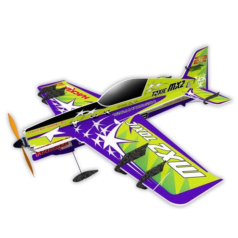 MX2 Toxic Kunstflugzeug 810mm ARF