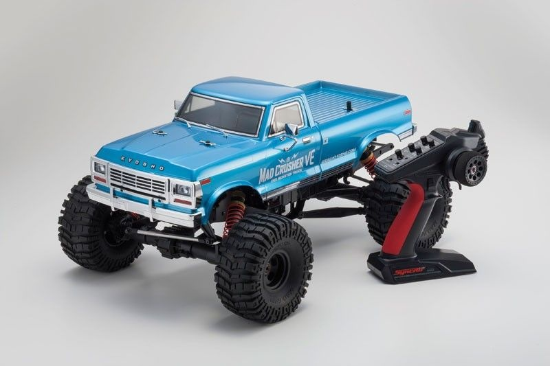 Mad Crusher VE Brushless 4WD Scale Truck 1:8 2,4GHz RTR