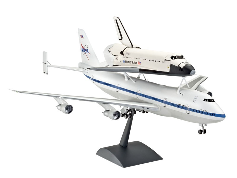 Boeing 747 SCA & Space Shuttle 1:144
