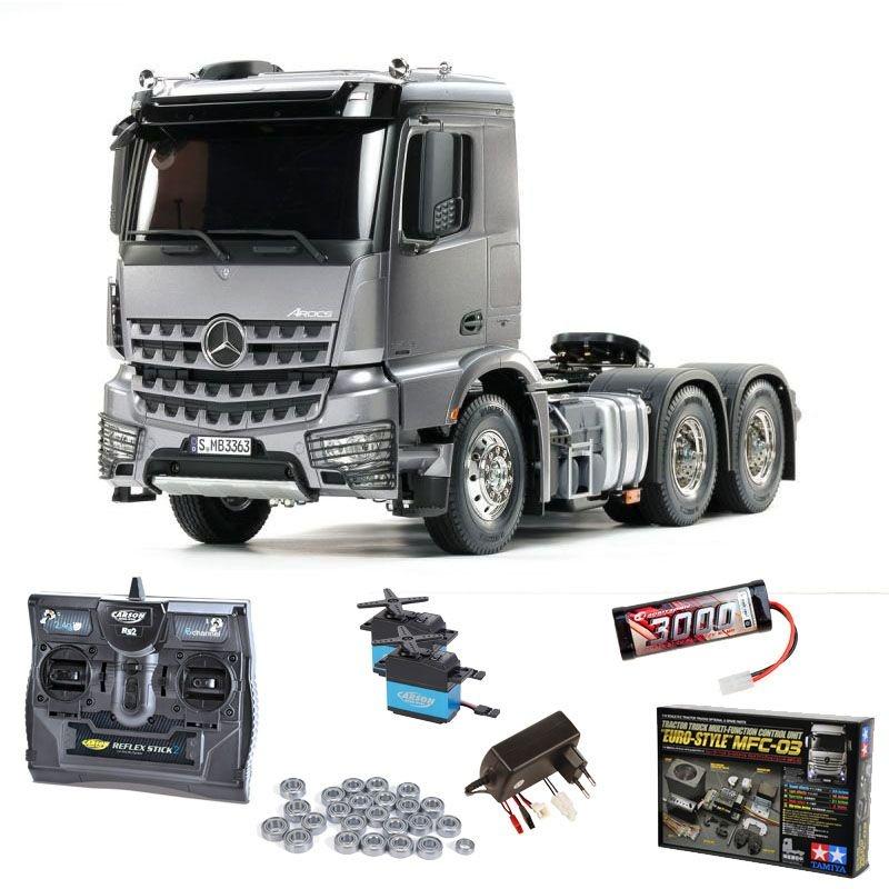 MB Arocs 3363 6x4 Truck Light Gun Metall Set, MFC, Lagersatz