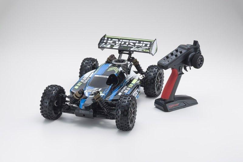 Inferno Neo 3.0 Nitro 4WD Buggy 1/8 2,4GHz RTR, blau