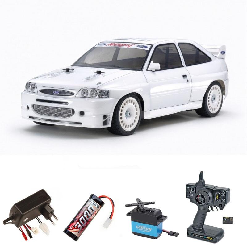 Ford Escort Custom TT-02 4WD 1:10 Bausatz Komplettset