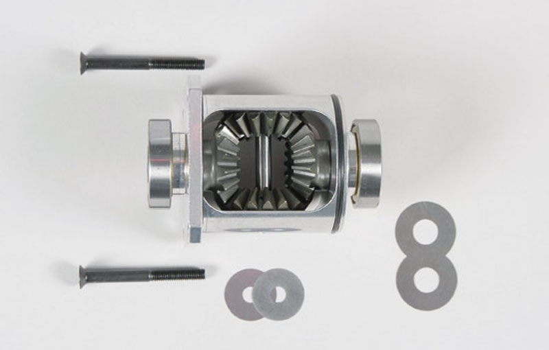 Alu-Differential 4WD komplett - Set