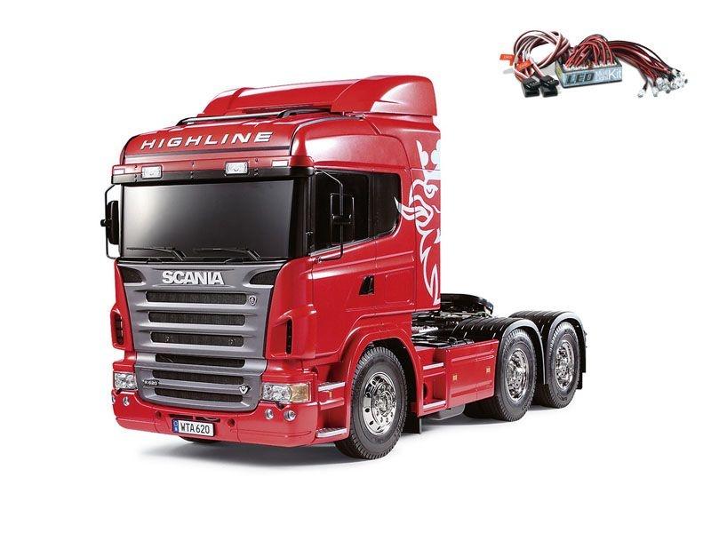 Scania R620 3-Achs 6x4 - Exklusiv + LED-Lichtset