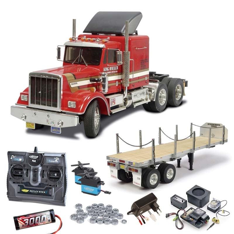 Truck King Hauler komplett + MFC-01, Flachbett, Kugellager
