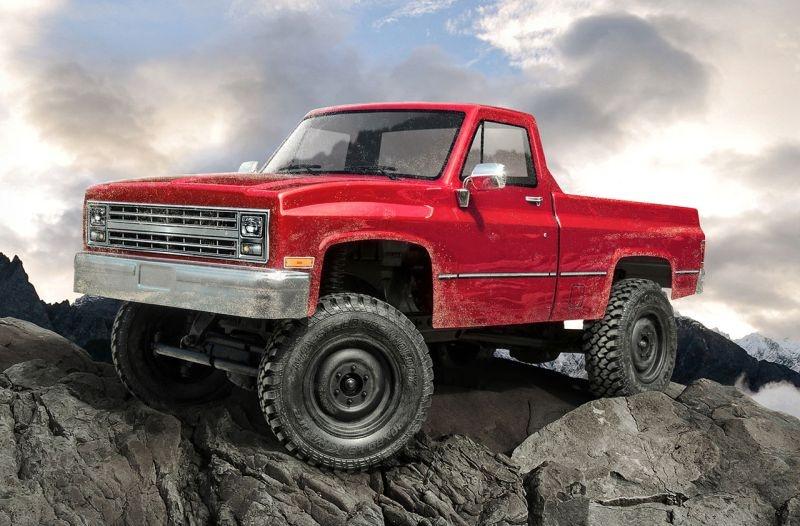 CMX C-10 Pickup 1/10 4WD Crawler 2,4GHz  RTR Rot