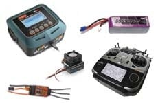 RC Elektronik und Akkus