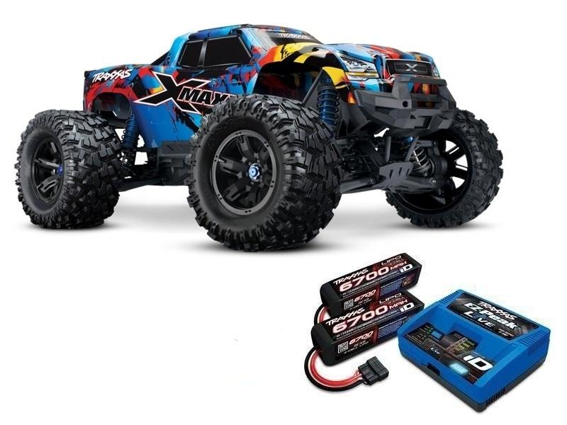 X-MAXX 8S 4WD BL Monstertruck Rock n Roll, LiPos und Lader