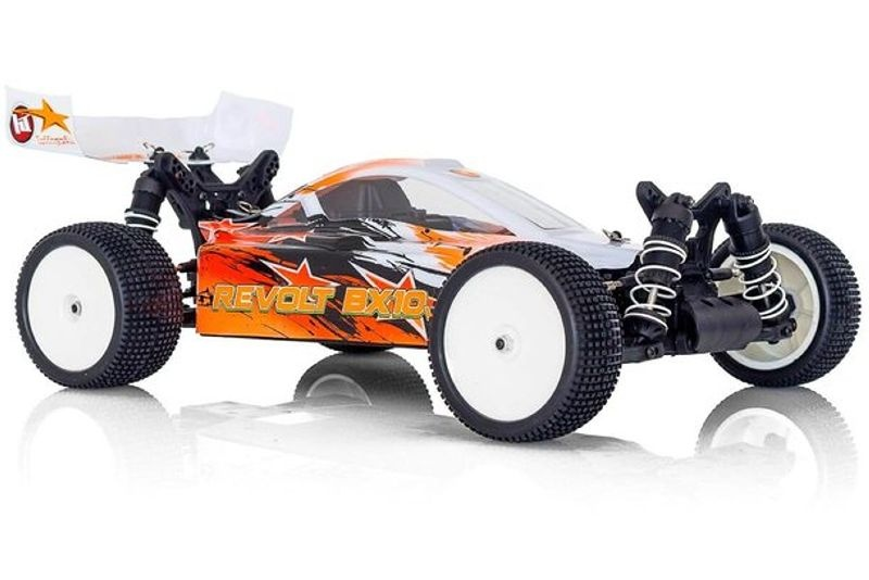 Revolt BX10 4.0 Elektro Buggy 4WD 1/10 2,4GHz RTR orange