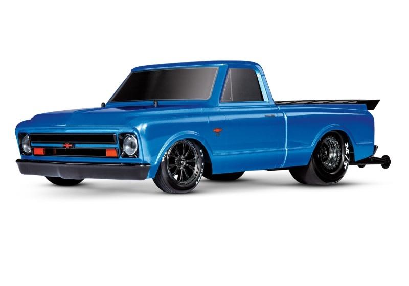 Drag Slash 2WD Drag-Racer Brushless 1:10 RTR blau